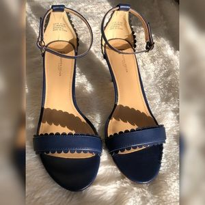 Blue Boston Design Studio Shoes